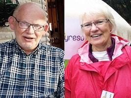 Carl-Olof Strand, Eva Blommegård, Gunnel Agrell Lundgren