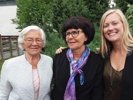 Eva Johansson, Johanna Björksten, Lena Hjelmérus, Ninni Berndtson