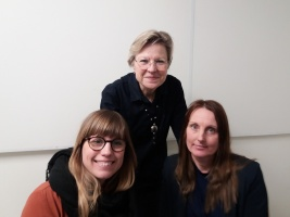 Hanna Dahlgren, Johanna Lindholm, Lena Hjelmérus, Lena Nylund