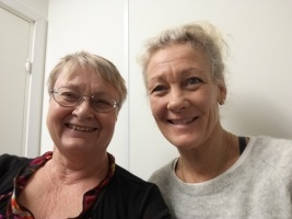 Ann Fredriksen, Lena Hjelmérus