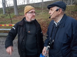 Antoine Berthelin, Eric Magnusson, Gunnel Agrell Lundgren