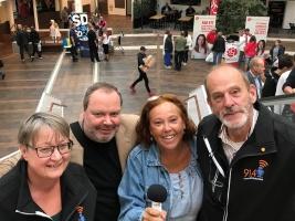 Ann Sandin-Lindgren, Leif Bratt, Lena Hjelmérus, Niklas Wennergren