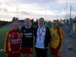 Caroline Sjöblom, Frida Thörnqvist, Josefine Lindberg, Linn Axelsson, Niklas Wennergren