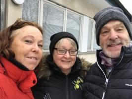 Ann Sandin-Lindgren, Leif Bratt, Lena Hjelmérus