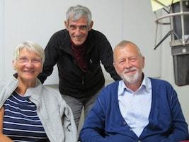 Barbro Lavett, Bror Perjus, Kjell Andersson, Leif Bratt