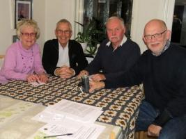 Carl-Olof Strand, Kerstin Hallgren, Robert Engström, Stig Renman