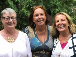 Ann Sandin-Lindgren, Catarina Johansson Nyman, Lena Hjelmérus