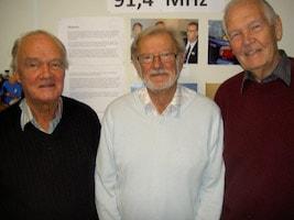 Holger Svensson, Jan Rafstedt, Rolf Hallberg, Åke Sandin