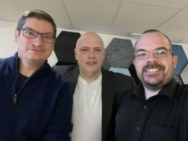 Henrik Mellström, Per Carlberg, Tony Björklund