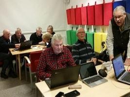 Bengt Wolf, Carl-Olof Strand, Gunnel Agrell Lundgren, Lars-Anders Westlin, Margareta Boström, Pelle Luvan