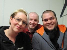 Angelica Wallén, Kenny Eriksson, Leif Bratt, Mikael Hultgren