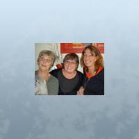 Bitte Isacsson, Christa Hauser, Lena Sandin