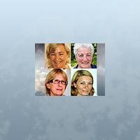 Anna Steele, Christina Melzén, Margareta Ternstedt, Nomi Lind
