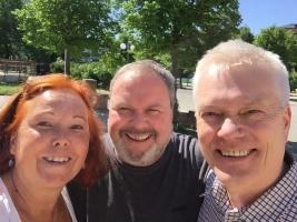 Anders Linder, Ann Sandin-Lindgren, Niklas Wennergren