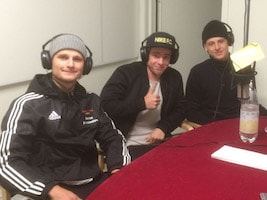 Lucas Brikell, Mattias Andersson, Niclas Thomasson, Niklas Wennergren