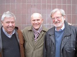 Göran Stenberg, Holger Svensson, KG Lindeberg, Åke Sandin
