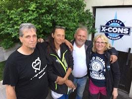 Ann Sandin-Lindgren, Lena Hedström, Mikael Elander, Stickan Andersson, Susann Elander